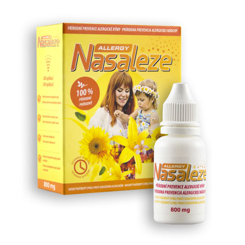 Nosní bariérový sprej - Nasaleze Allergy 800 mg