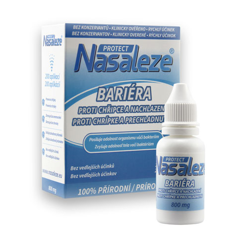 Nosní bariérový sprej - Nasaleze Protect 800 mg