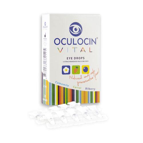 Oční kapky Oculocin Vital, 5 ampulek - Origmed